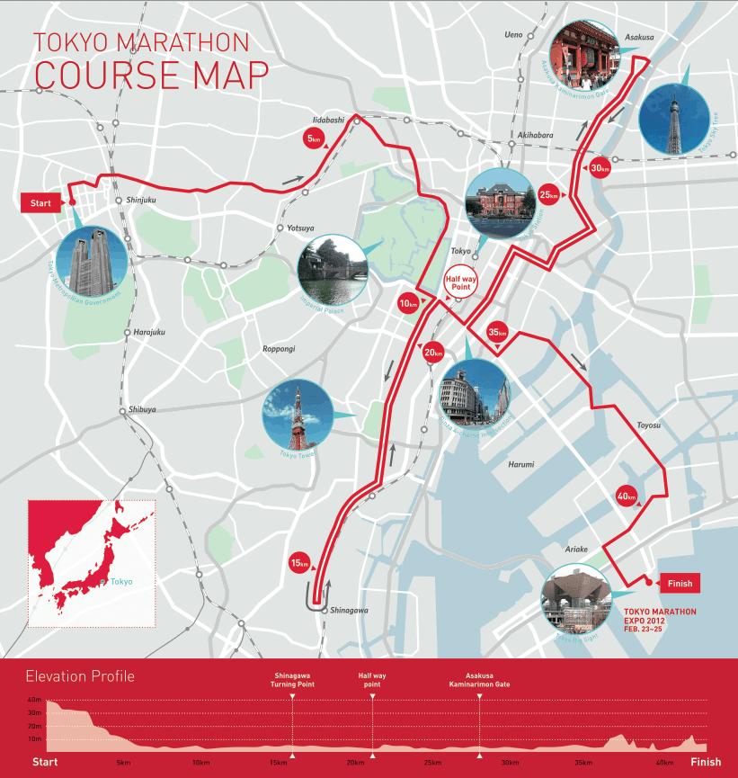 Boston Marathon Course Elevation Map.I Will Run Vicar Li