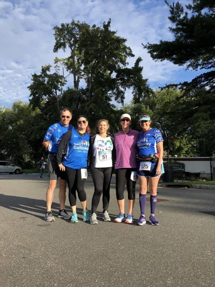 Team Galloway LI at Stepping Stone Lighthouse Run