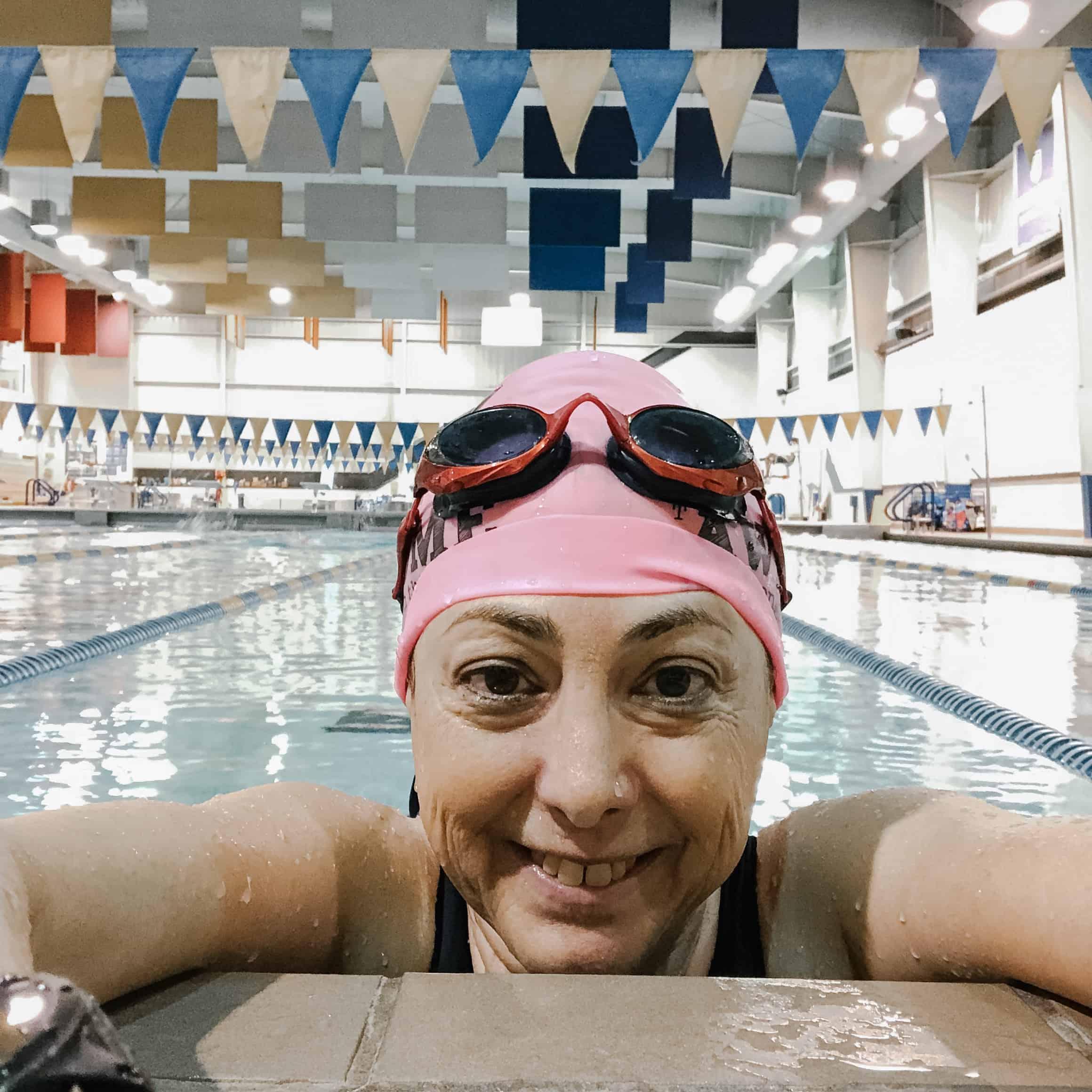 Hilary Topper at Hofstra Swim Center