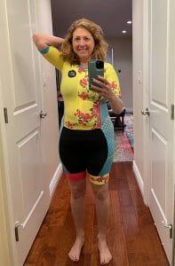 Hilary full length wearing caio bella athletics